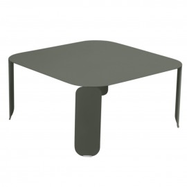 Table basse carrée BEBOP - romarin Fermob