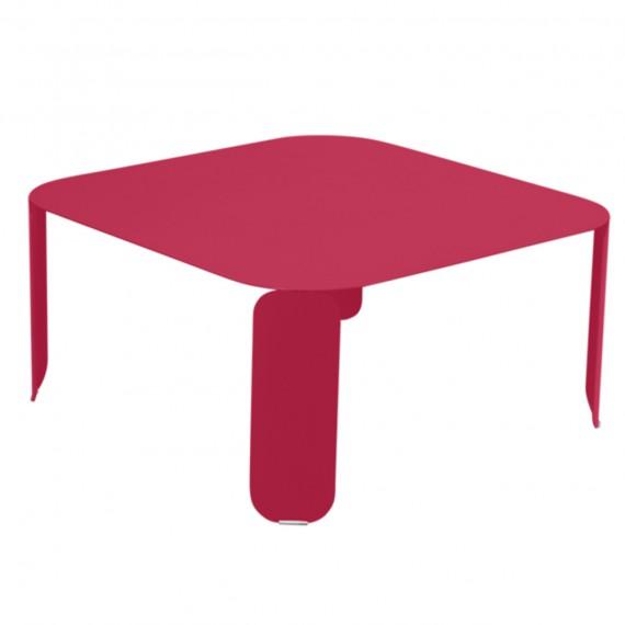 Fermob Table basse carrée BEBOP - rose praline