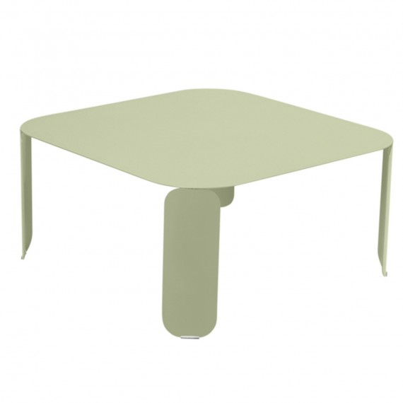 Fermob Table basse carrée BEBOP - tilleul