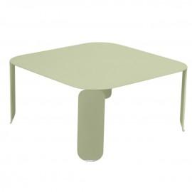 Table basse carrée BEBOP - tilleul Fermob