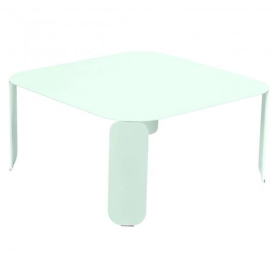 Fermob Table basse carrée BEBOP - menthe glaciale