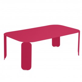 Table basse rectangulaire BEBOP - rose praline Fermob