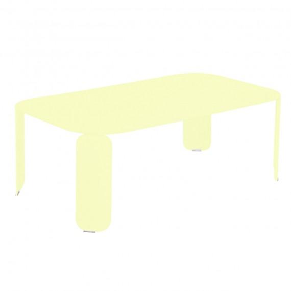 Fermob Table basse rectangulaire BEBOP - citron givré