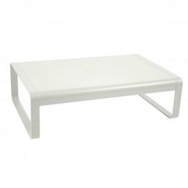 Table basse rectangulaire BELLEVIE - gris argile