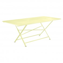 Table rectangulaire CARGO - citron givré