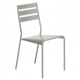 Chaise FACTO - gris argile