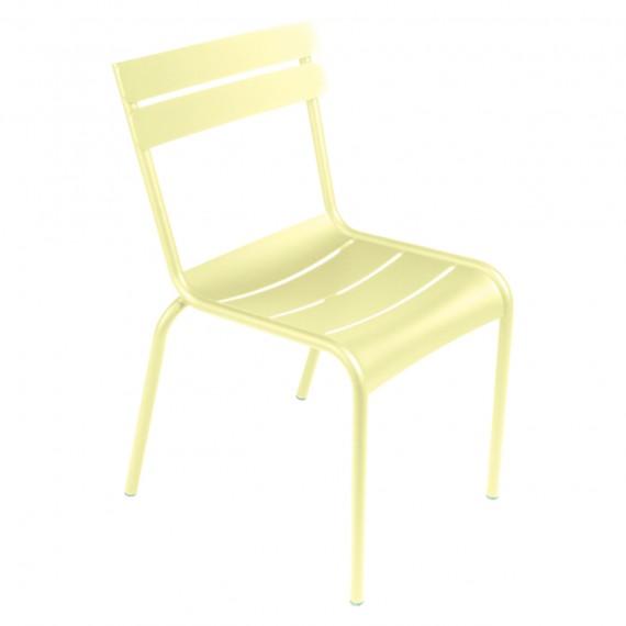 Fermob Chaise LUXEMBOURG - citron givré