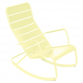 Rocking chair LUXEMBOURG - citron givré Fermob