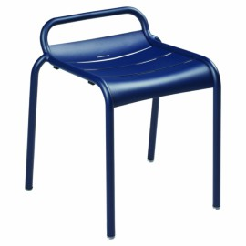 Tabouret LUXEMBOURG - bleu abysse
