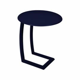 Table basse déportée ALIZE - bleu abysse