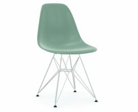Chaise Eames DSR - gris clair pieds chromés