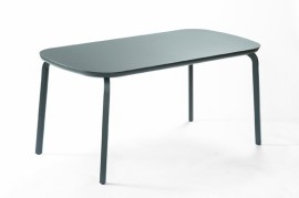 Table MARUMI small aluminium