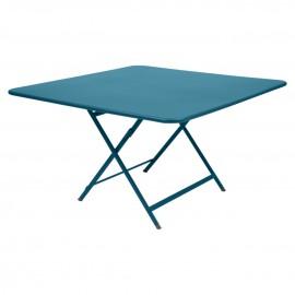 Table pliante CARACTERE Bleu turquoise