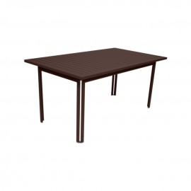 Table rectangulaire COSTA - rouille