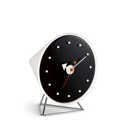 horloge vitra desk clocks cone clock. Black Bedroom Furniture Sets. Home Design Ideas