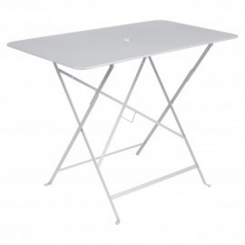 Table rectangulaire BISTRO - blanc coton