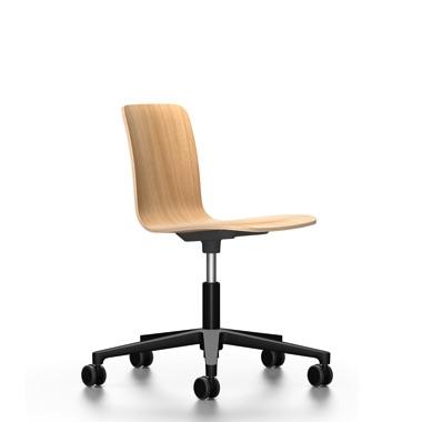 si ge de bureau vitra hal ply studio ch ne naturel. Black Bedroom Furniture Sets. Home Design Ideas