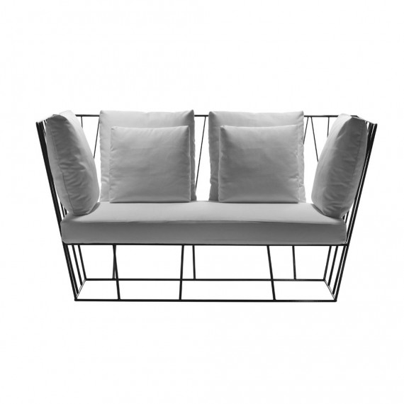 Driade HERVE 2 places Gris olive