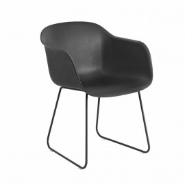 FIBER CHAIR Coque Noir