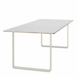 Table 70 70 225x90 blanc