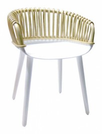 Petit fauteuil club CYBORG Blanc