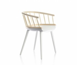 Petit fauteuil STICK CYBORG Blanc