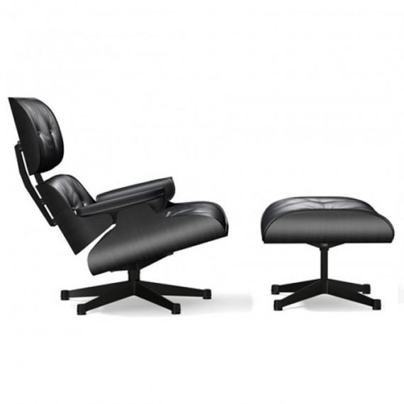 Vitra Eames Lounge Chair et Ottoman frêne