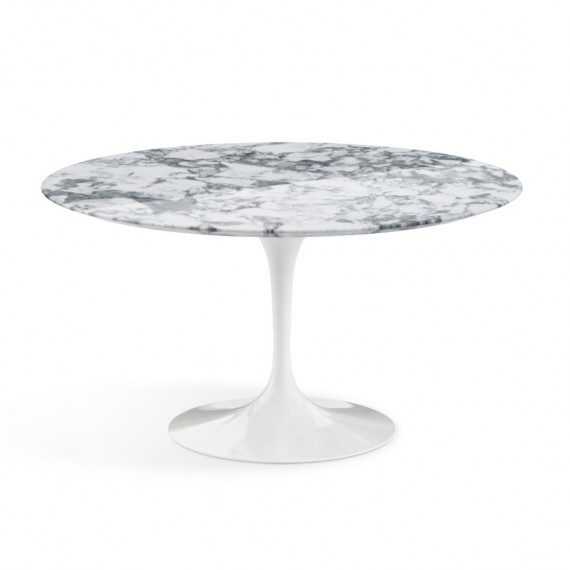 Table knoll table de repas saarinen ronde marbre for Table de repas design
