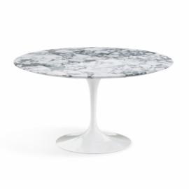 Table de repas Saarinen ronde marbre