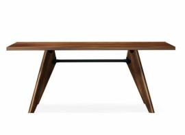 Table SOLVAY Noyer américain