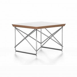 Eames OCCASIONAL TABLE LTR Blanc