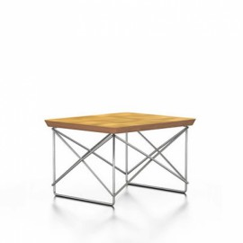 OCCASIONAL TABLE LTR feuilles or