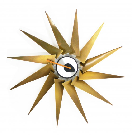 Horloge vitra turbine wall clocks for Horloge eames