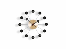 Ball WALL CLOCKS Noir Laiton