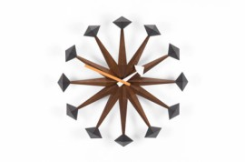 Polygon WALL CLOCKS Noyer