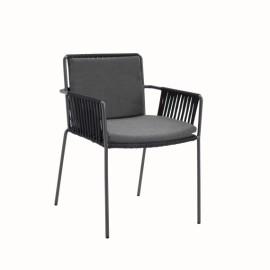 dining chair NET manganese black rope