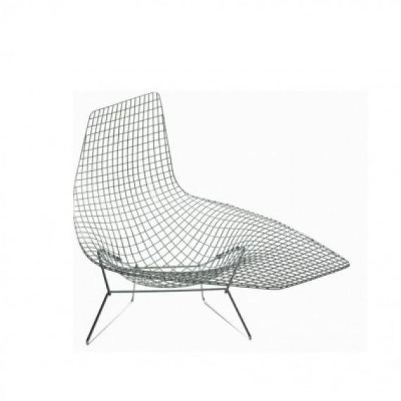 fauteuil knoll asym trique bertoia non tapiss. Black Bedroom Furniture Sets. Home Design Ideas