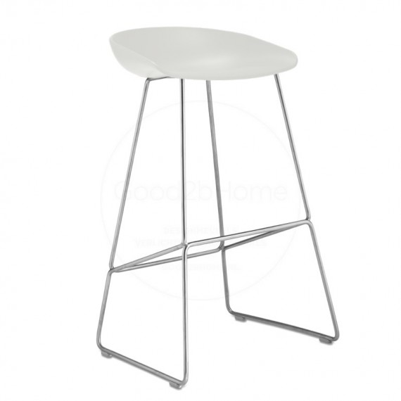 HAY ABOUT A STOOL Blanc