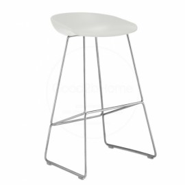 ABOUT A STOOL Blanc HAY