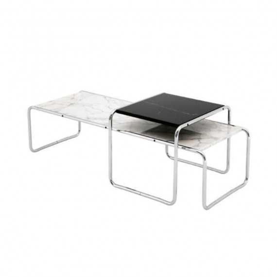 Knoll Table basse rectangulaire Laccio