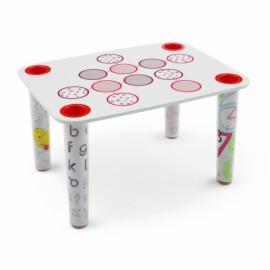Table pour enfants avec déco LITTLE FLARE