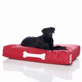 Coussin large pour chien DOGGIELOUNGE Rouge