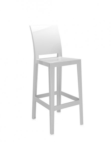 Tabouret Kartell One More One More Please Blanc
