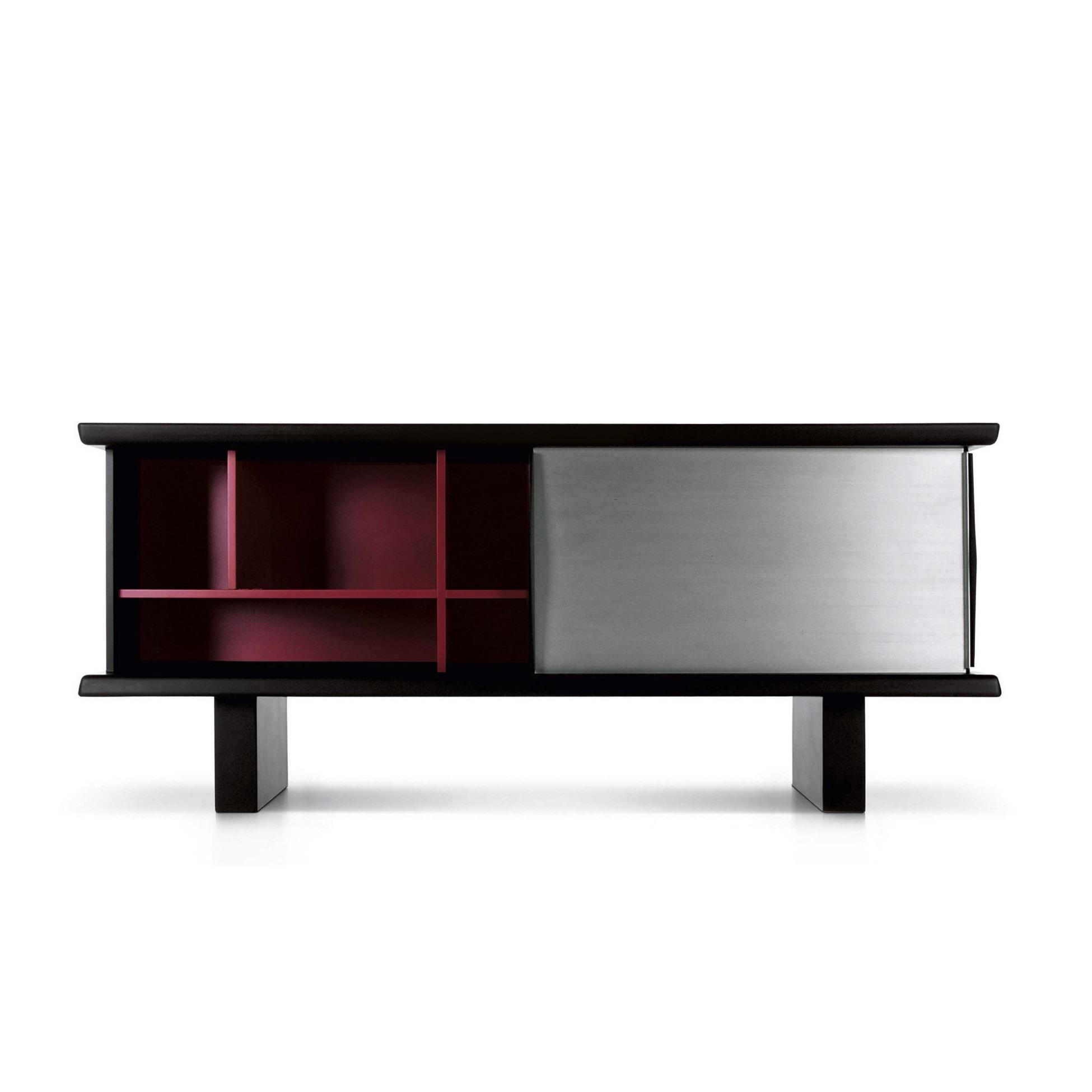 rangement cassina buffet riflesso. Black Bedroom Furniture Sets. Home Design Ideas