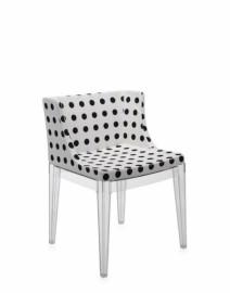 Fauteuil MADEMOISELLE Transparent Pattern blanc