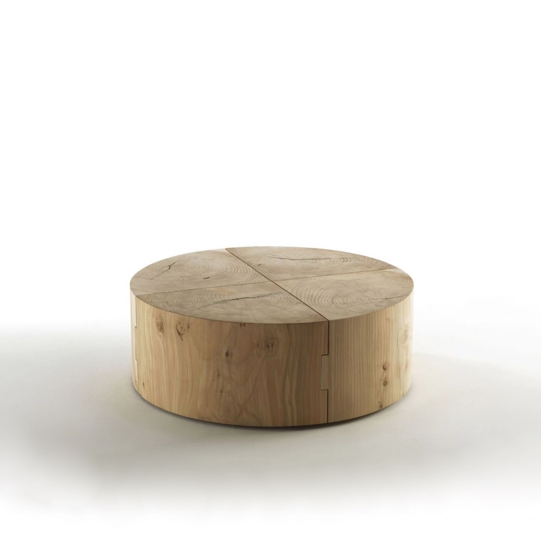 Tables Basses Table Basse Eco Block Ronde Riva