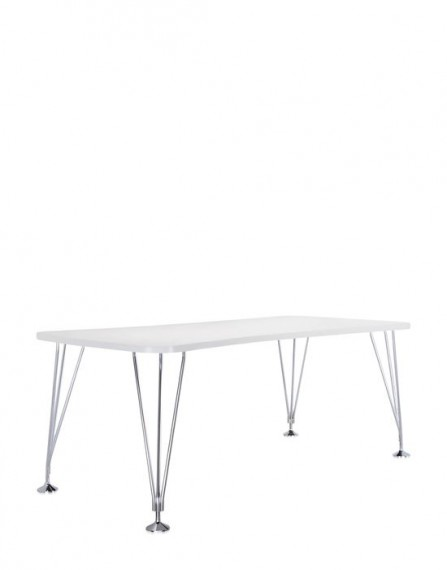 Tables max 190x90 blanc kartell for Miroir 190x90