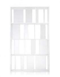 Bibliothèque SUNDIAL Blanc Cristal