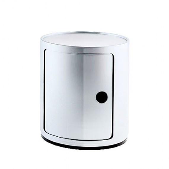 Chevets meuble de rangement componibili modulable blanc kartell - Meuble rangement modulable ...