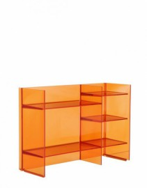 Meuble de rangement SOUND RACK Orange mandarine